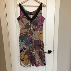 Anthropologie Maeve dress sz 10 with pockets!